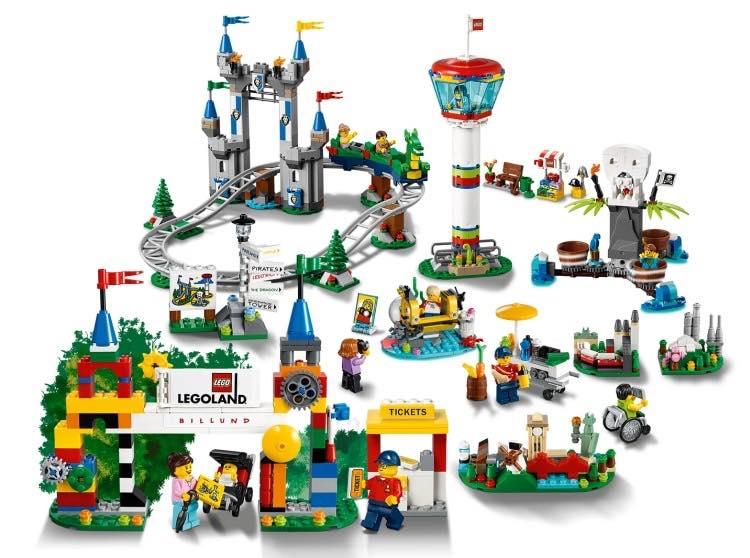 LEGOLAND Park (40346) Official Set Images - The Brick Fan