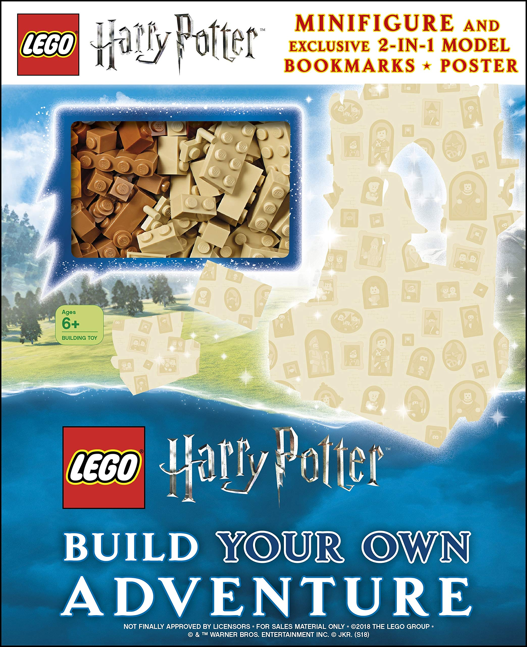 Pre Order The New Lego Harry Potter Build Your Own Adventure