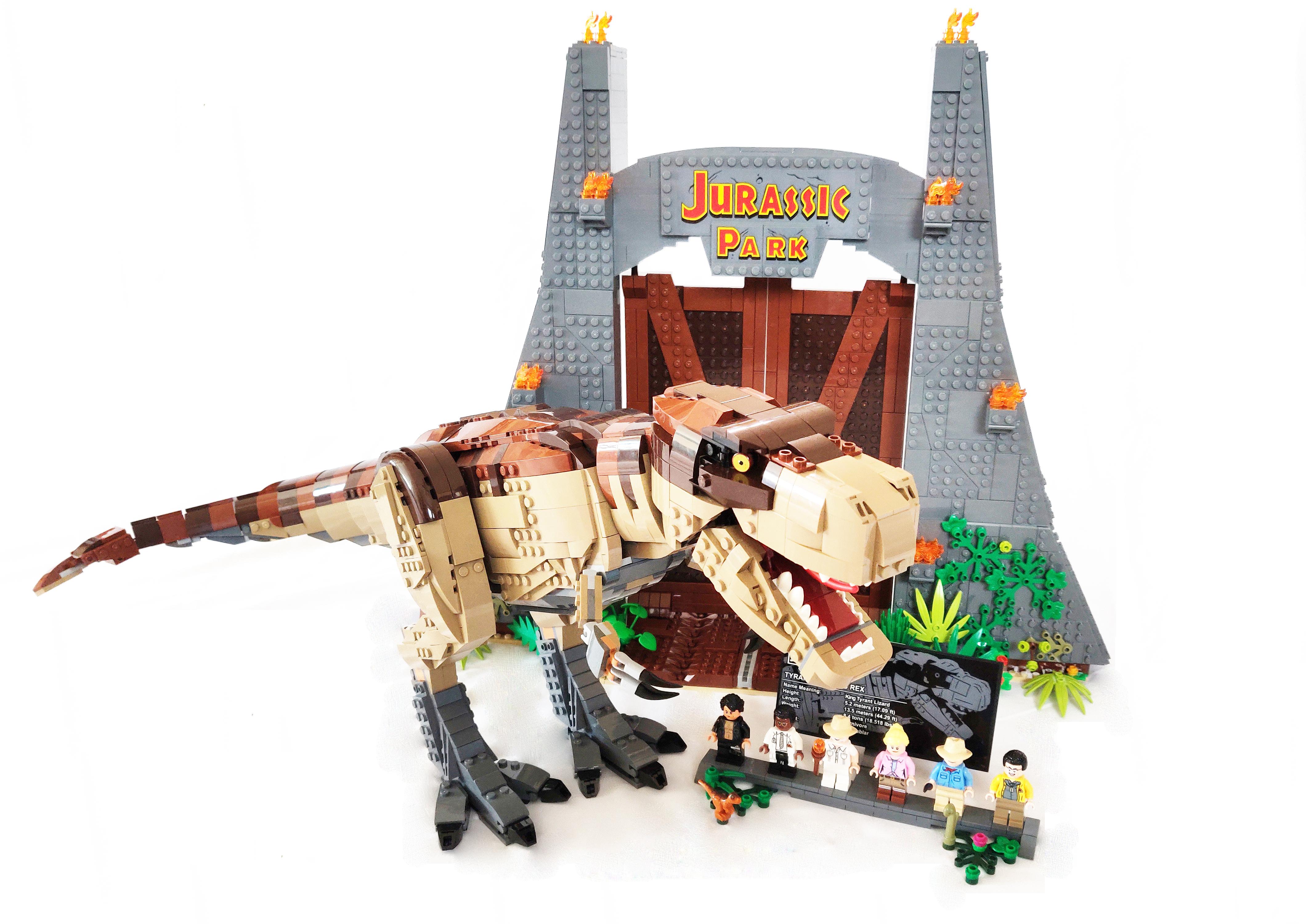 2020 Lego Jurassic World sticker 1