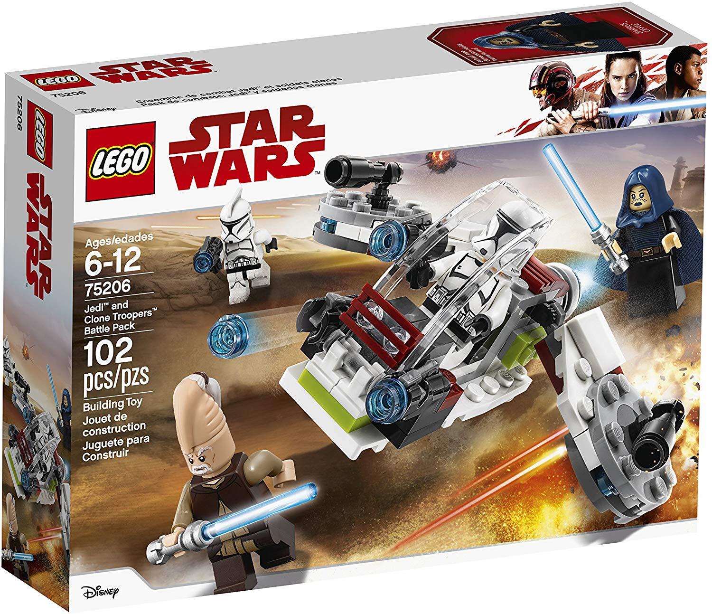 LEGO Star Wars Jedi & Clone Troopers Battle Pack (75206 ...