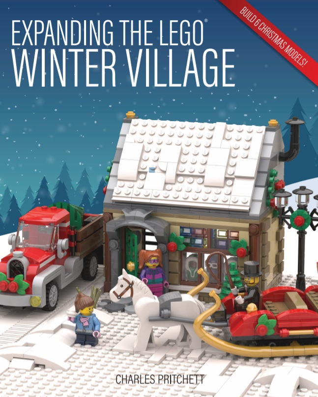 Expanding the LEGO Winter Village Book Review - The Brick Fan