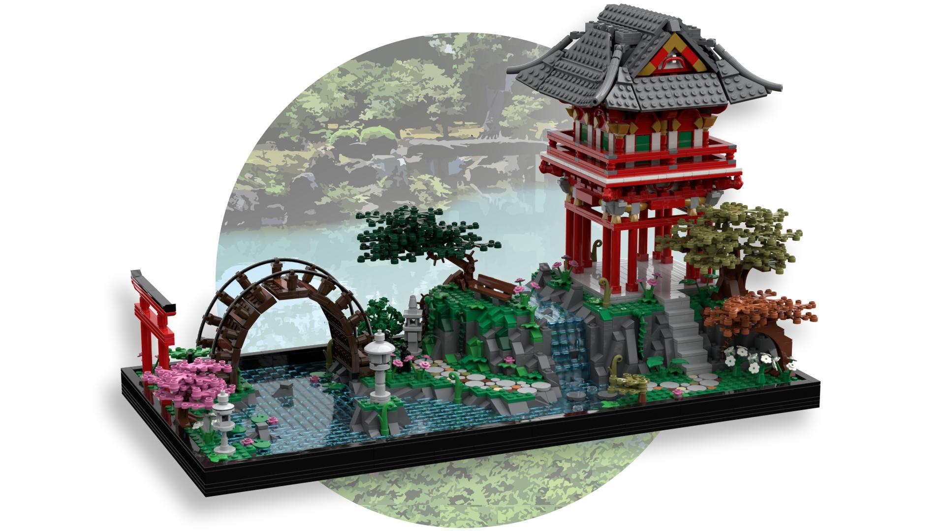 Lego Ideas Japanese Tea Garden Achieves 10 000 Supporters