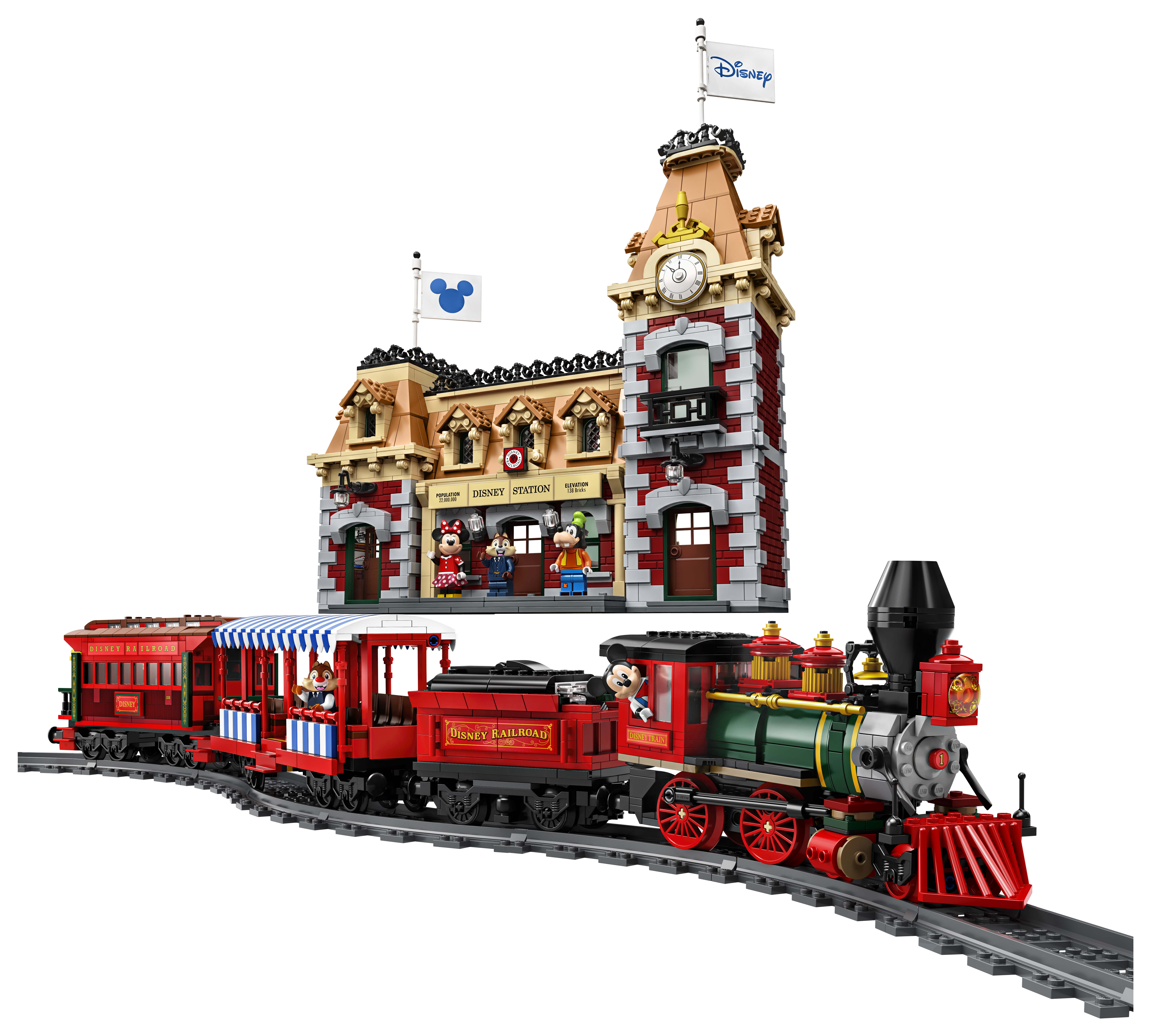 LEGO Disney Train and Station (71044) Officially Announced - The