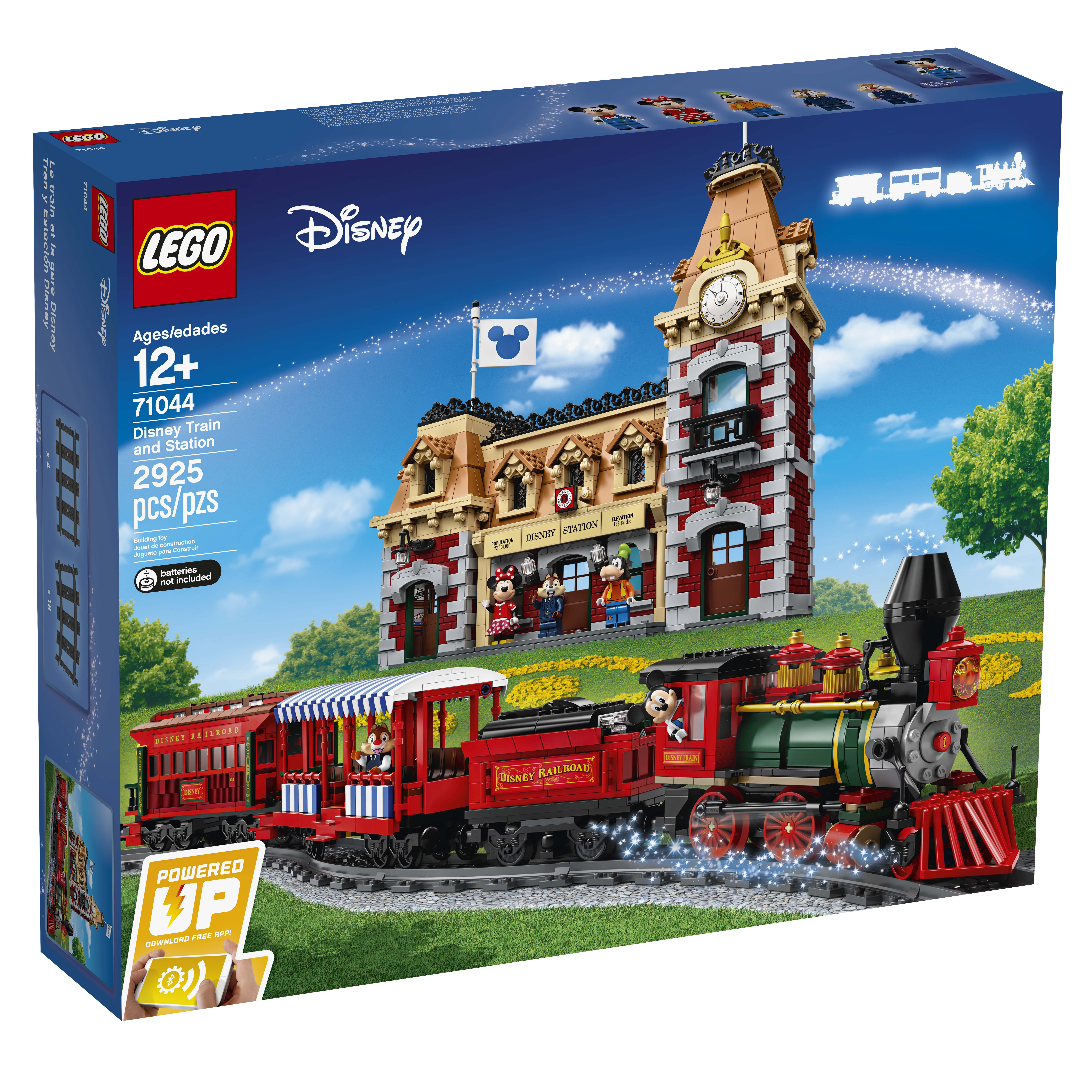 LEGO Disney Train and Station (71044) Officially Announced ...