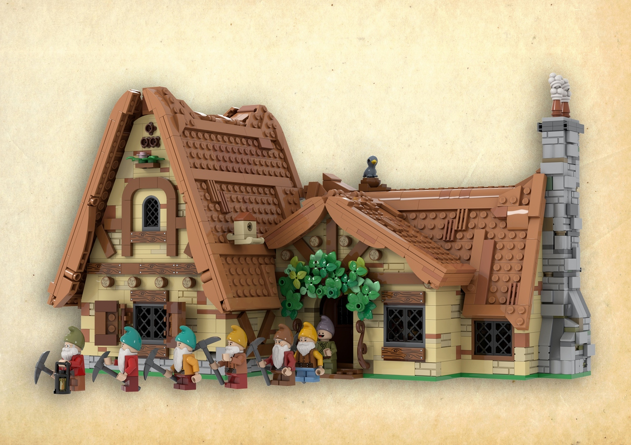 Lego Ideas The Seven Dwarfs House Achieves 10 000 Supporters