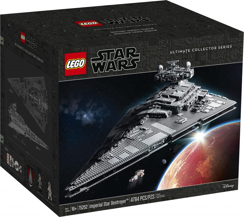 LEGO Star Wars Imperial Star Destroyer (75252) Double VIP
