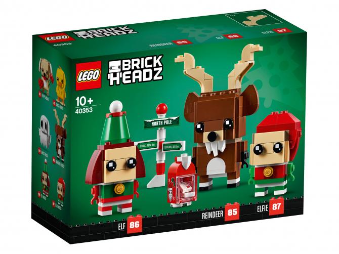 Lego Christmas Set 2019.Last Two 2019 Lego Brickheadz Sets Now Available The Brick Fan