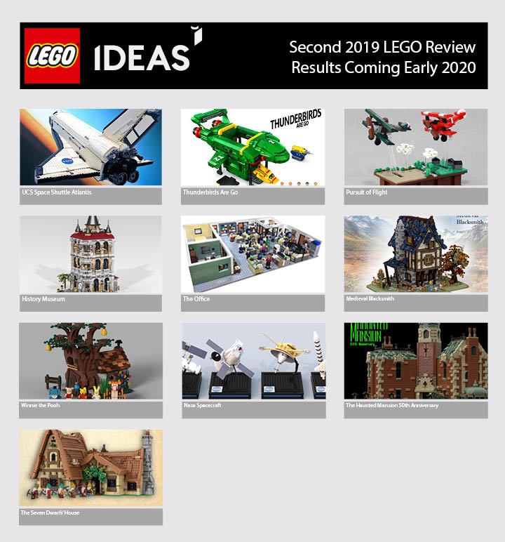 LEGO Ideas Second 2019 Review Stage