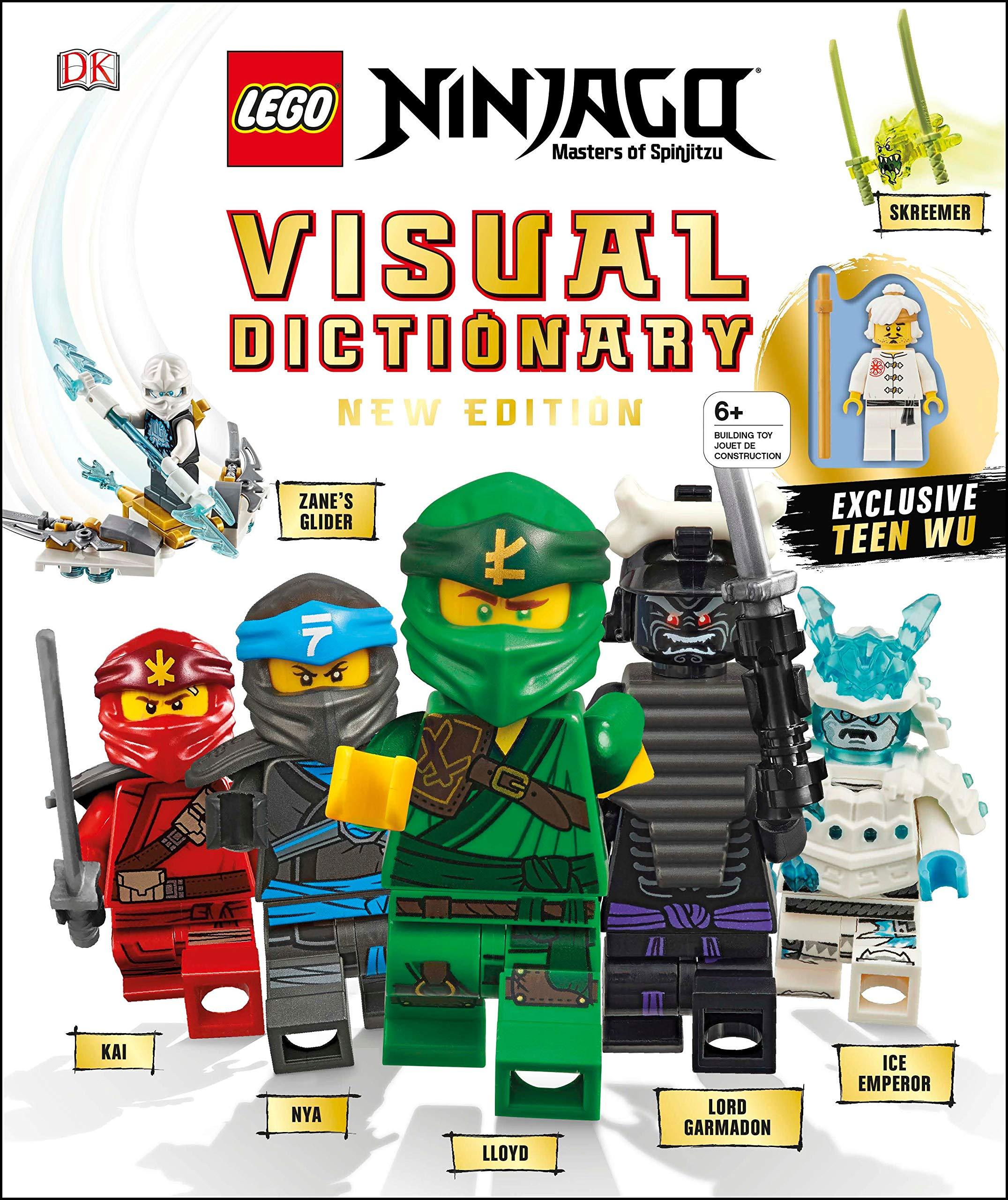 LEGO Ninjago Visual Dictionary - New Edition Pre-Order - The