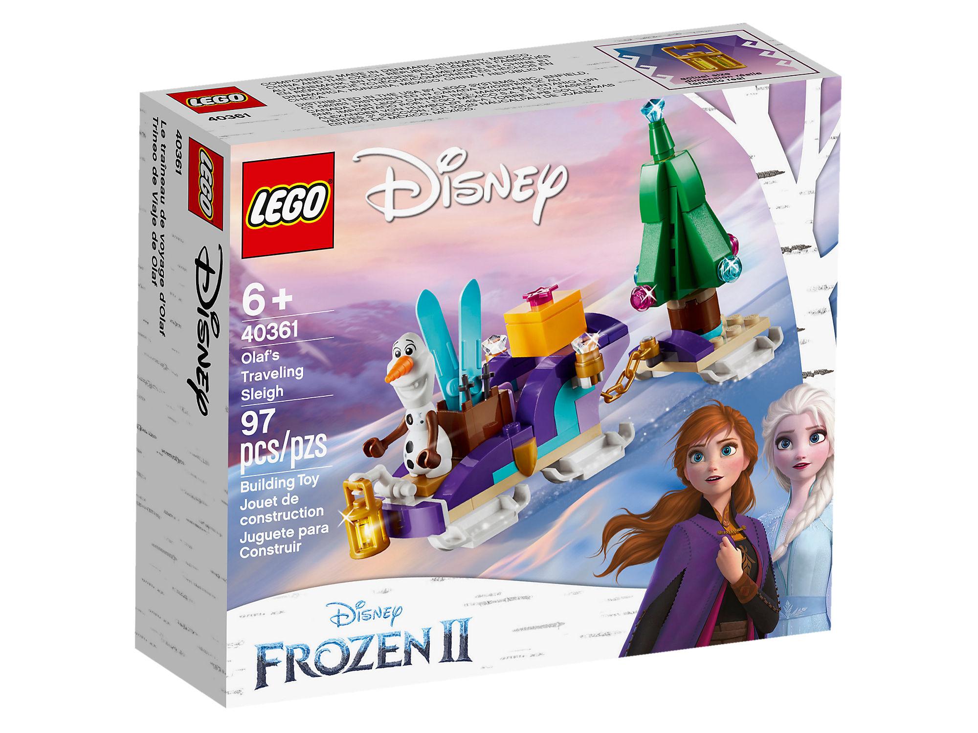 LEGO Disney Princess Frozen 2 Minifigure All New 2019 with Snowflakes Olaf
