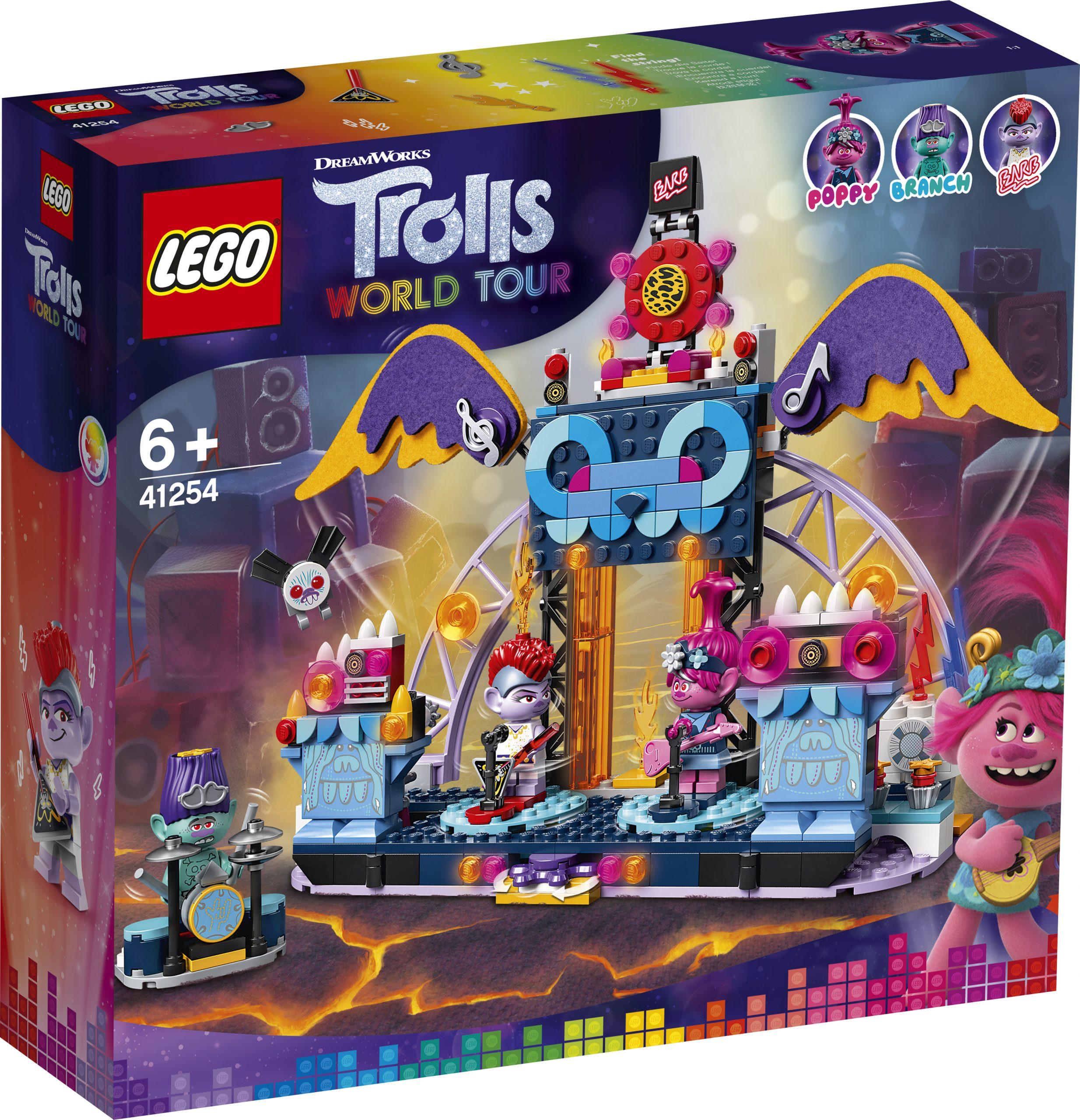 Lego Trolls World Tour Official Box Art Images The Brick Fan