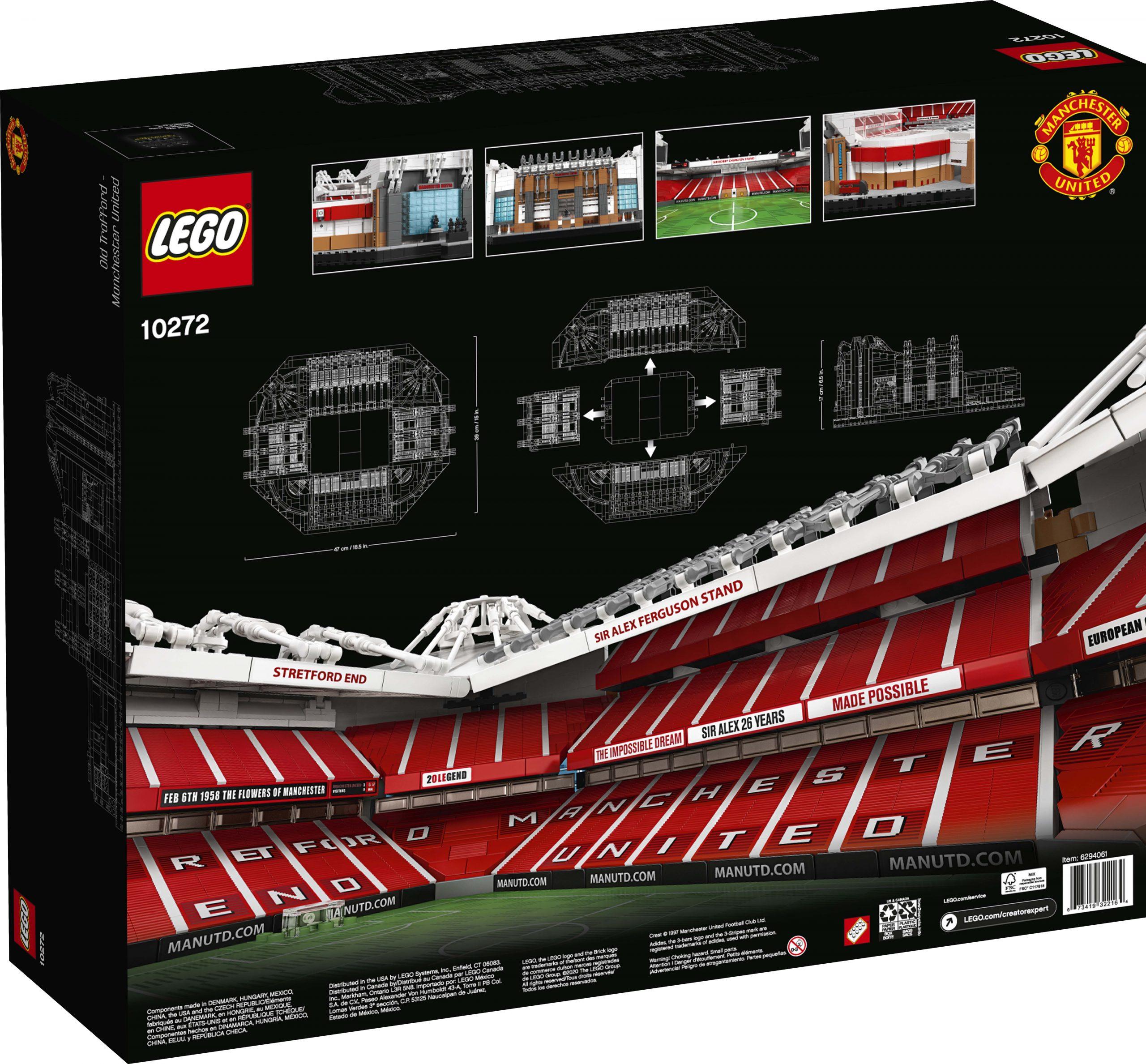 LEGO Creator Old Trafford - Manchester United (10272 ...