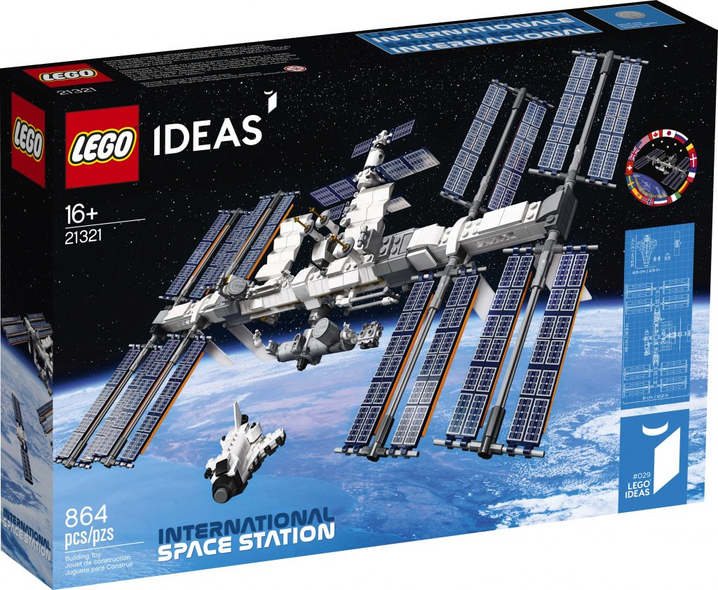 LEGO Ideas International Space Station (21321) Officially Announced