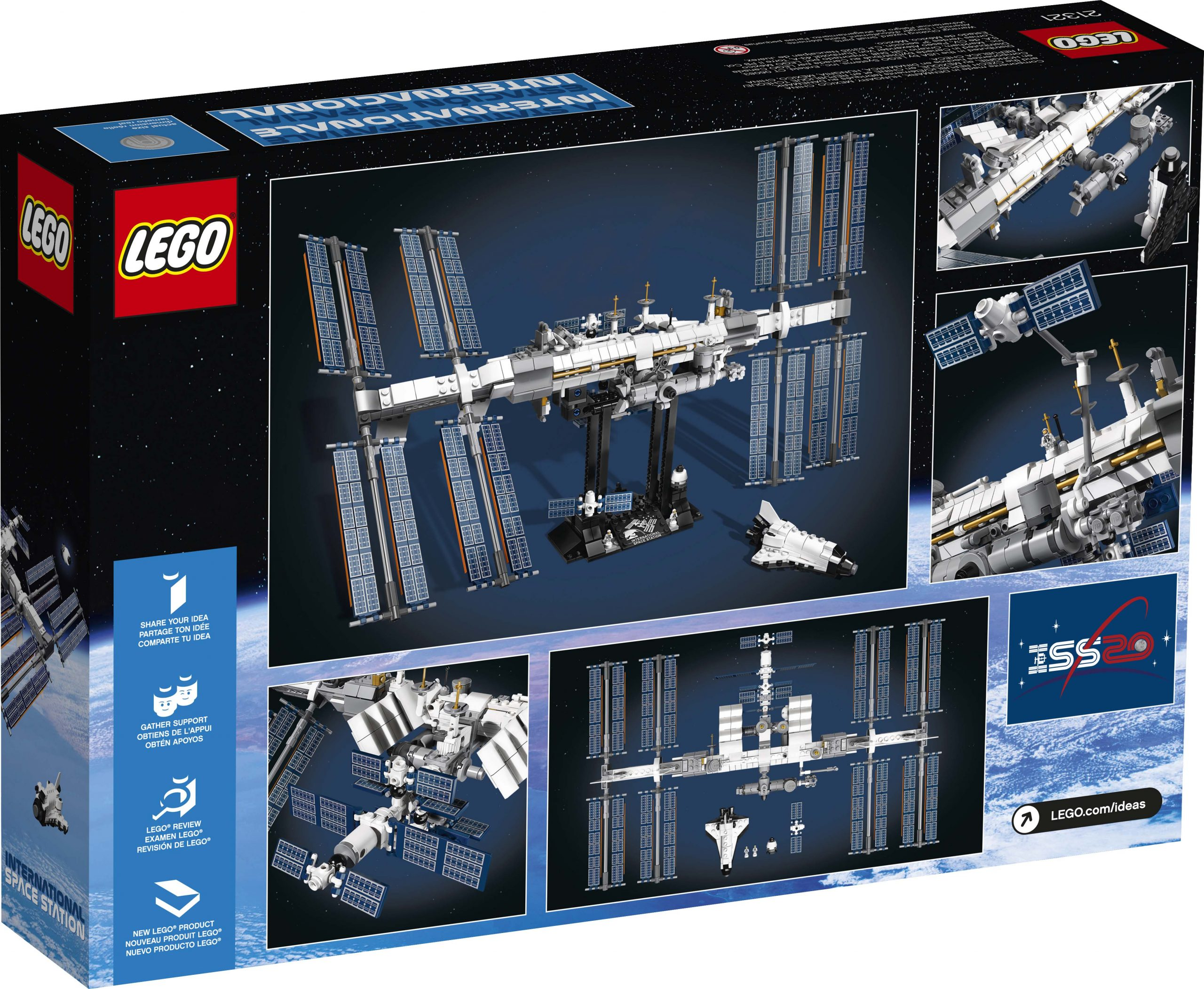 Lego Ideas International Space Station 21321 Officially Announced The Brick Fan