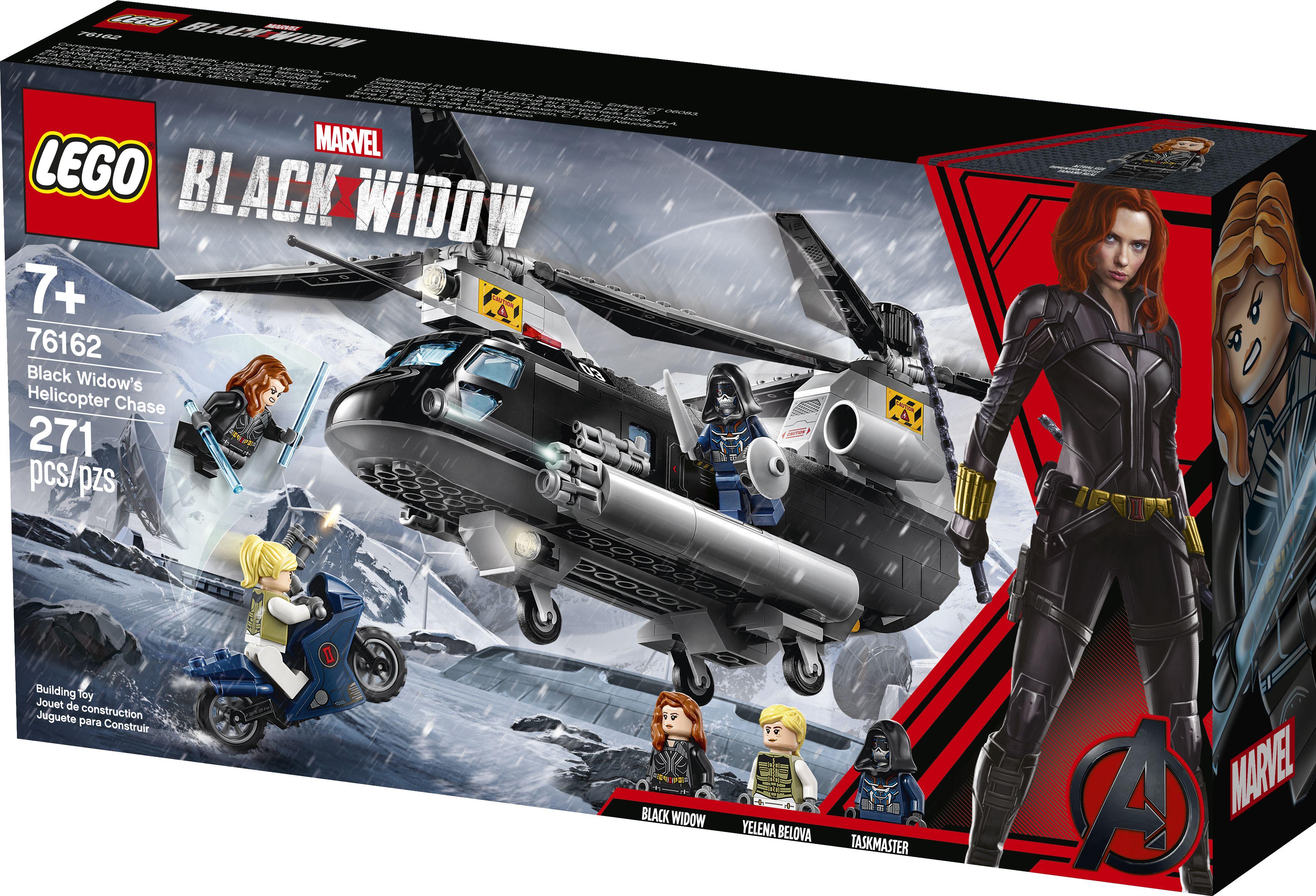 LEGO Marvel Black Widow Yelena Belova figure from set 76162 NEW
