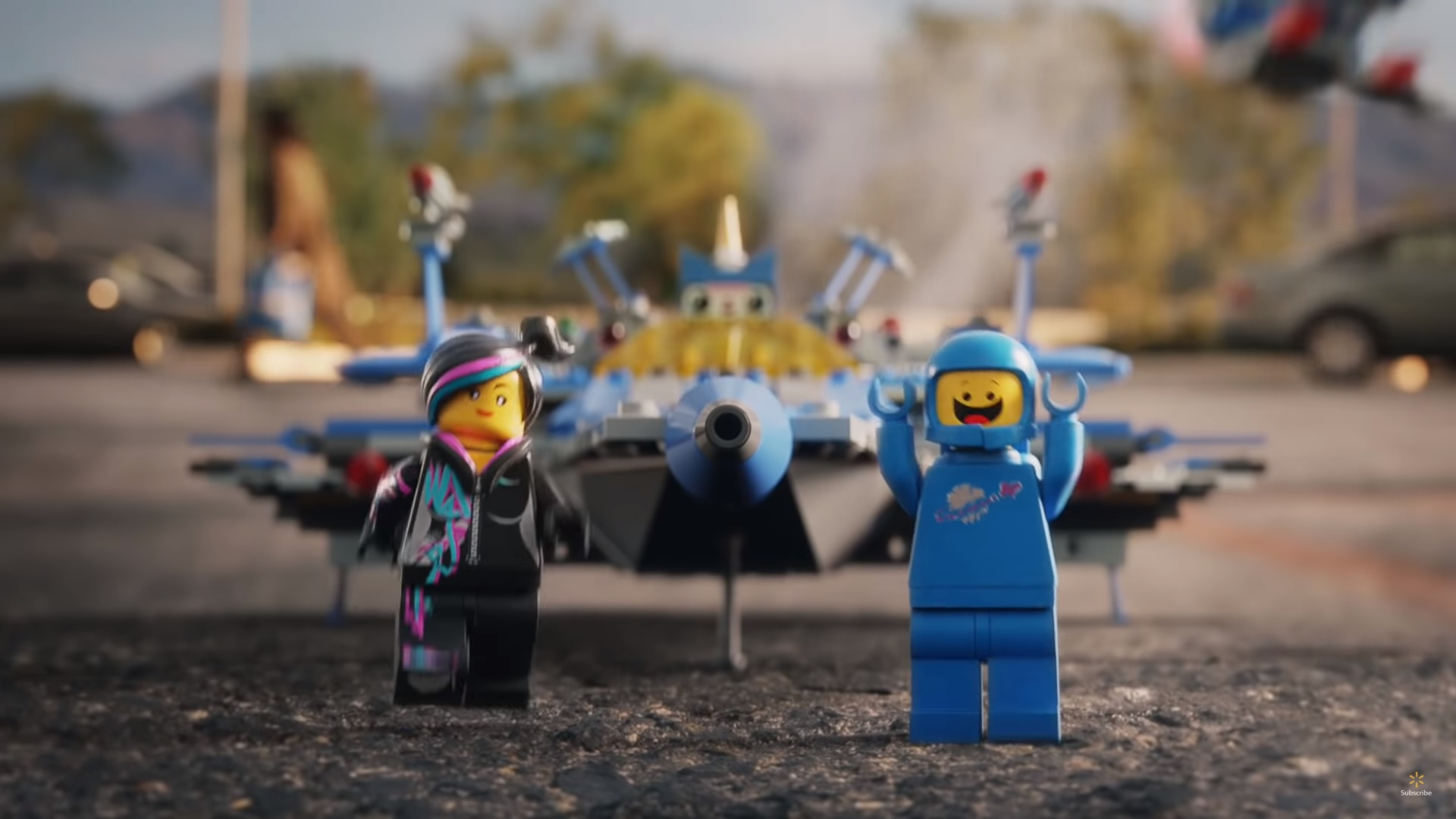 Walmart Super Bowl Liv Ad Featuring The Lego Movie The Brick Fan