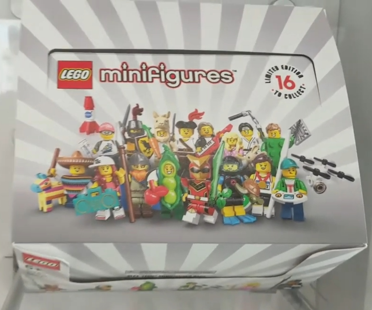 includes all 16 minifigs Lego 71027 series 20 complete nine new