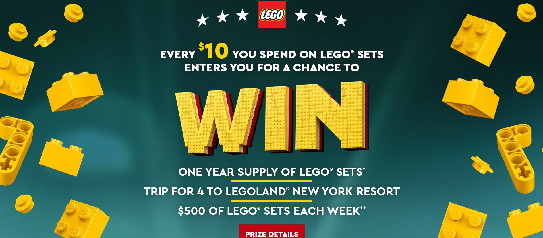 Enter Lego Masters Sweepstakes For Chance To Win 3 000 Of Lego The Brick Fan