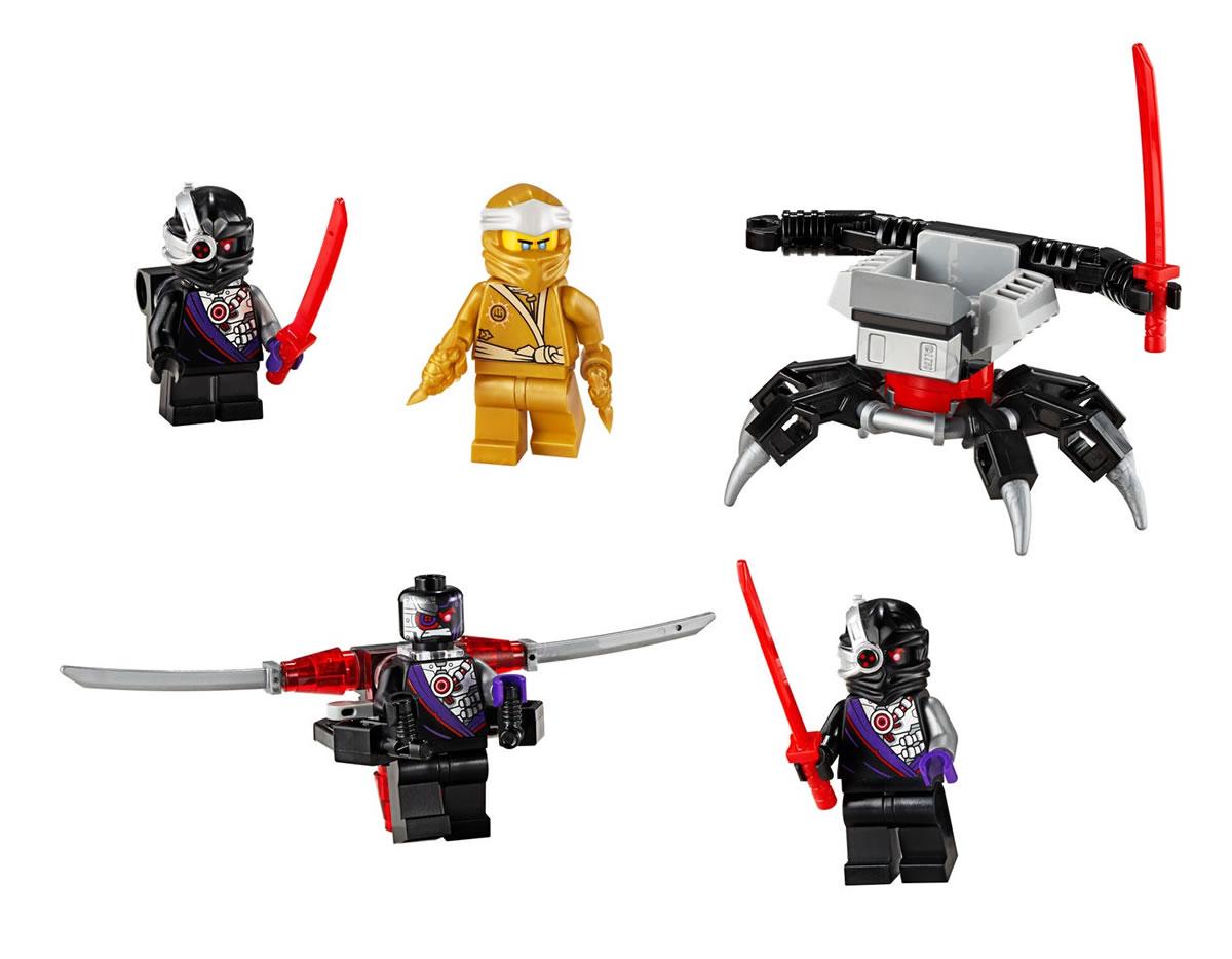 LEGO Ninjago Golden Zane Accessory Set (40374) Official ...