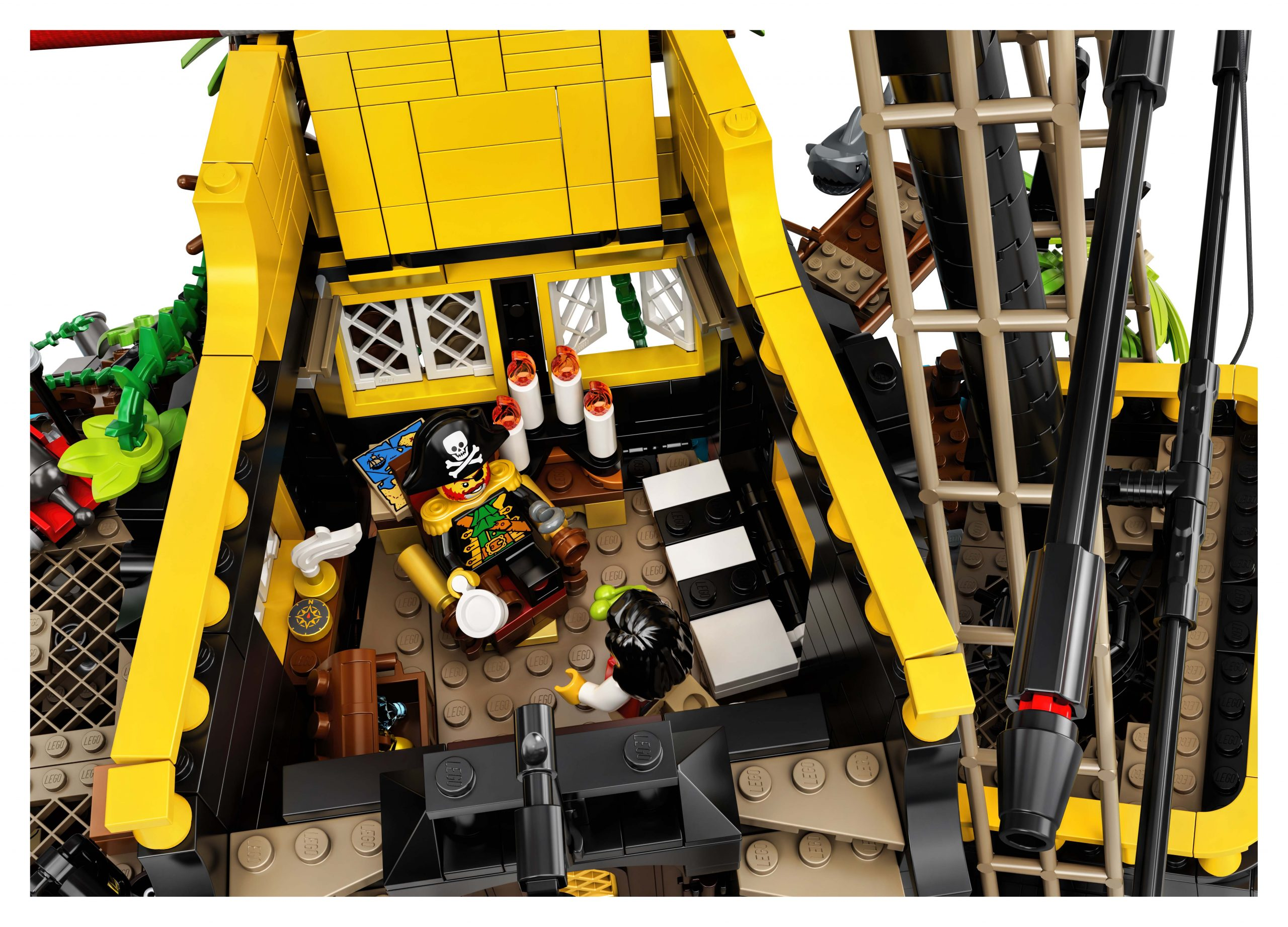 Lego Ideas Pirates Of Barracuda Bay 21322 Officially Announced The Brick Fan