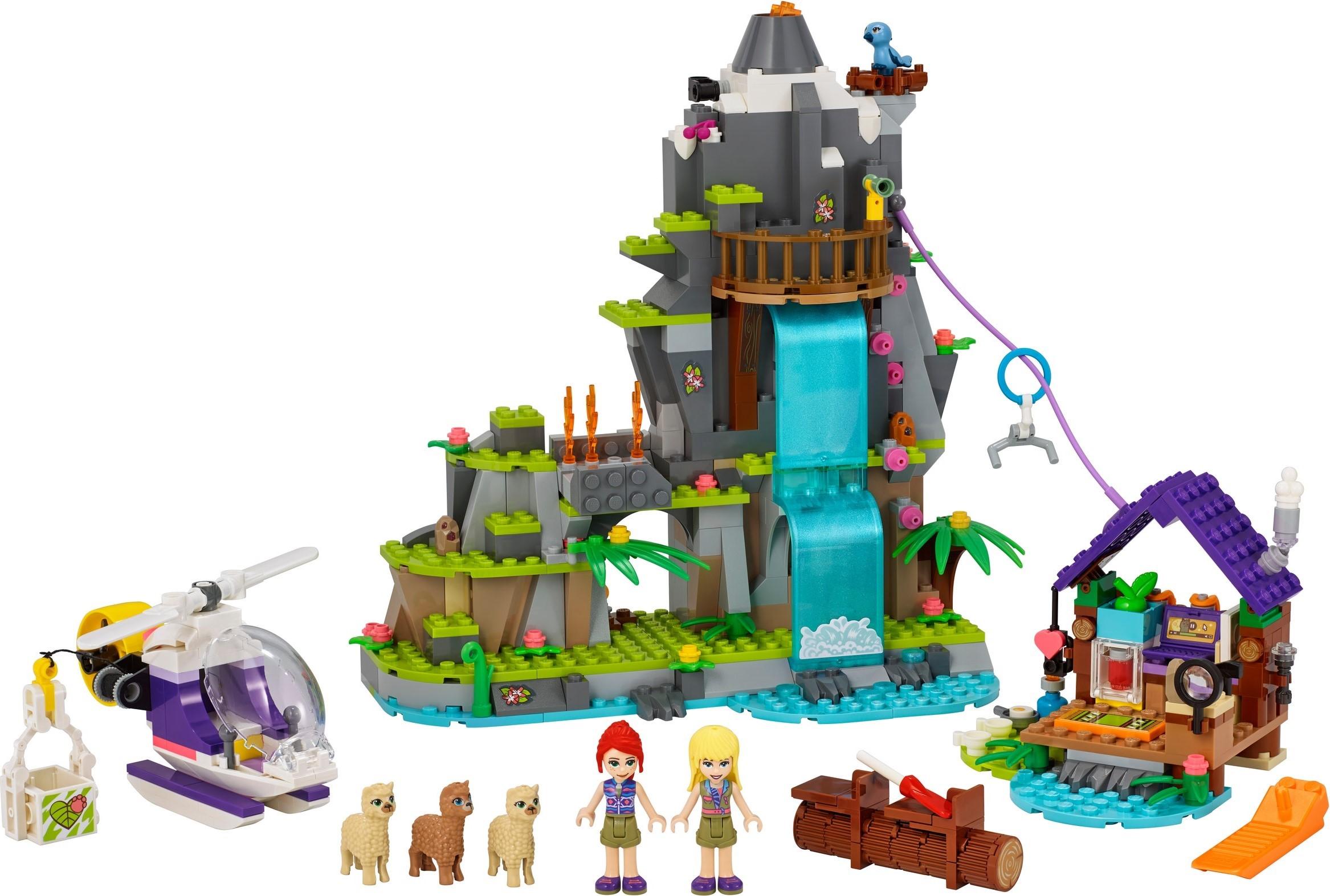 LEGO Friends Alpaca Mountain Jungle Rescue (41432 ...