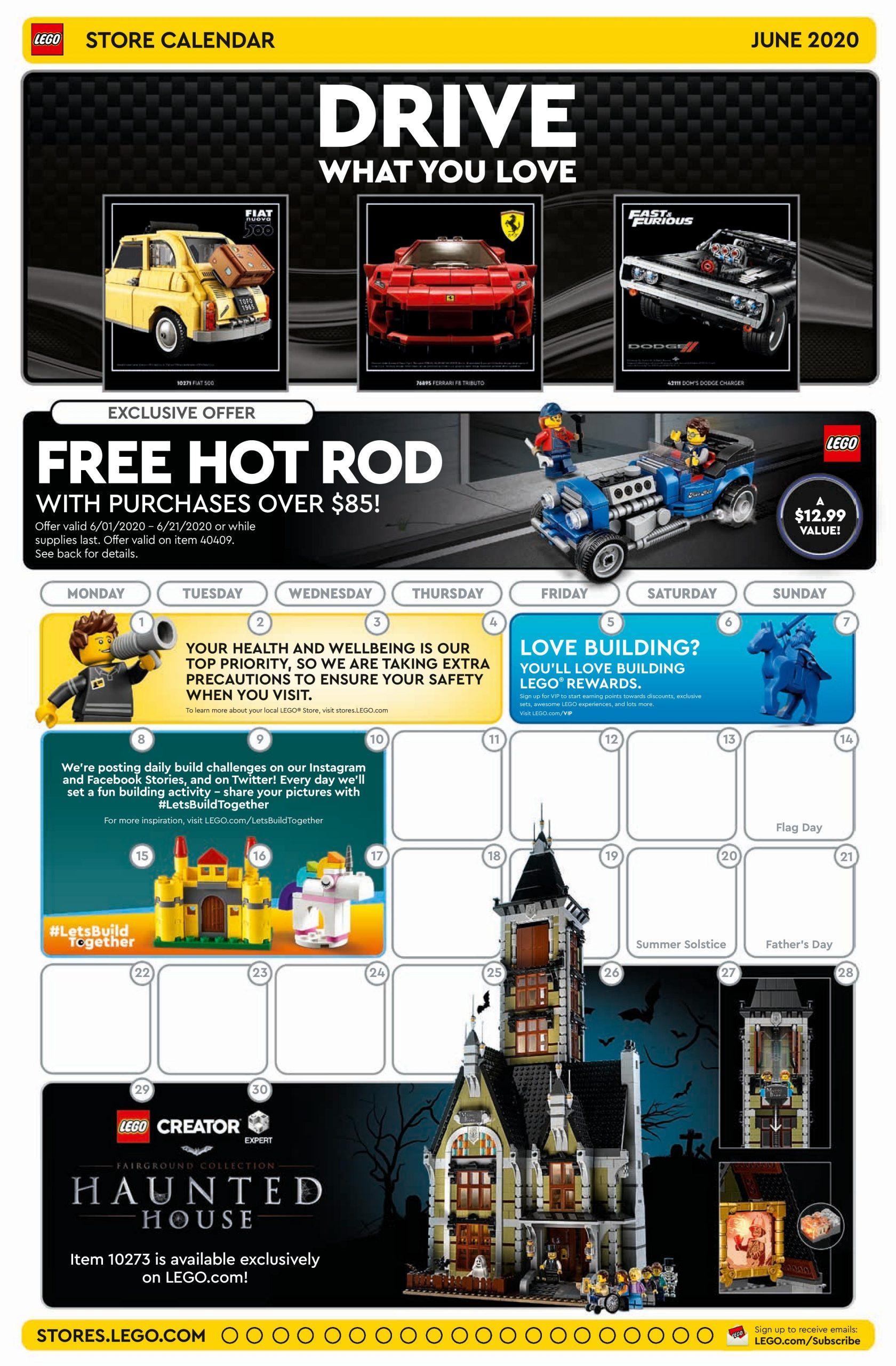 June 2021 Lego Calendar Wallpaper