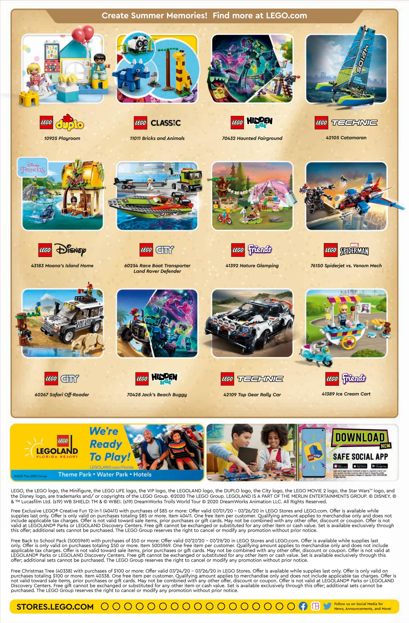 Lego June 2021 Calendar LEGO July 2020 Store Calendar Promotions & Events   The Brick Fan