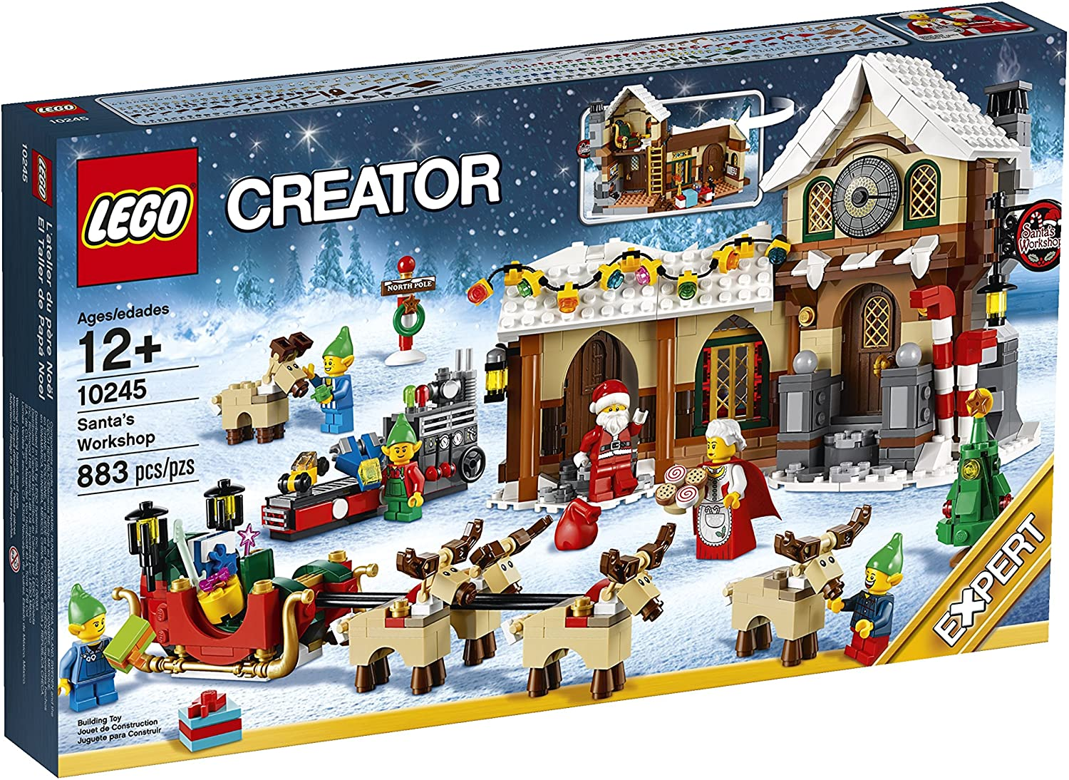 Lego Christmas Village 2020 LEGO Creator Winter Village Elf Clubhouse (10275) Rumored for 2020