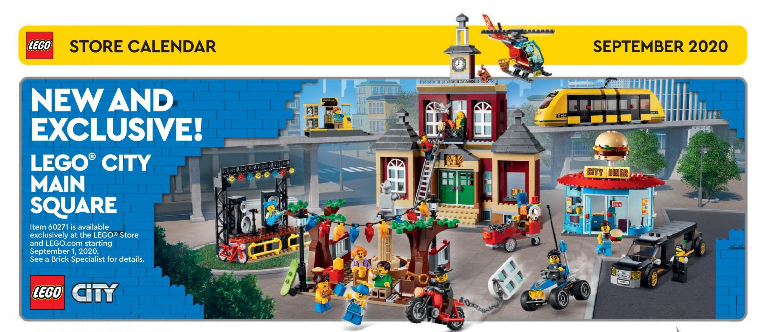 Lego Calendar September 2022.Lego September 2020 Store Calendar Promotions Events The Brick Fan