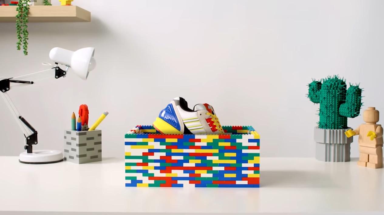 Gaseoso Torbellino tobillo  LEGO x Adidas A-ZX Shoe Teaser - The Brick Fan