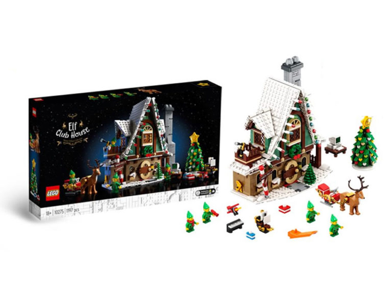 Christmas 2020 Lego LEGO Winter Village 2020 Elf Club House (10275) First Look   The