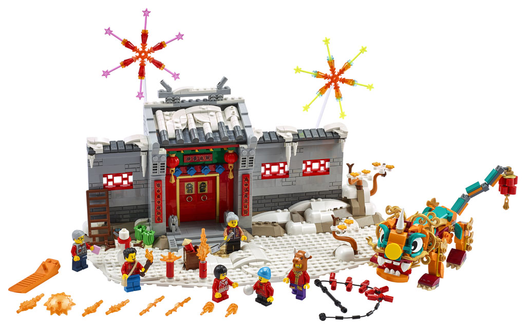 LEGO Celebrates Chinese Culture with Four New Sets for 2021 | The