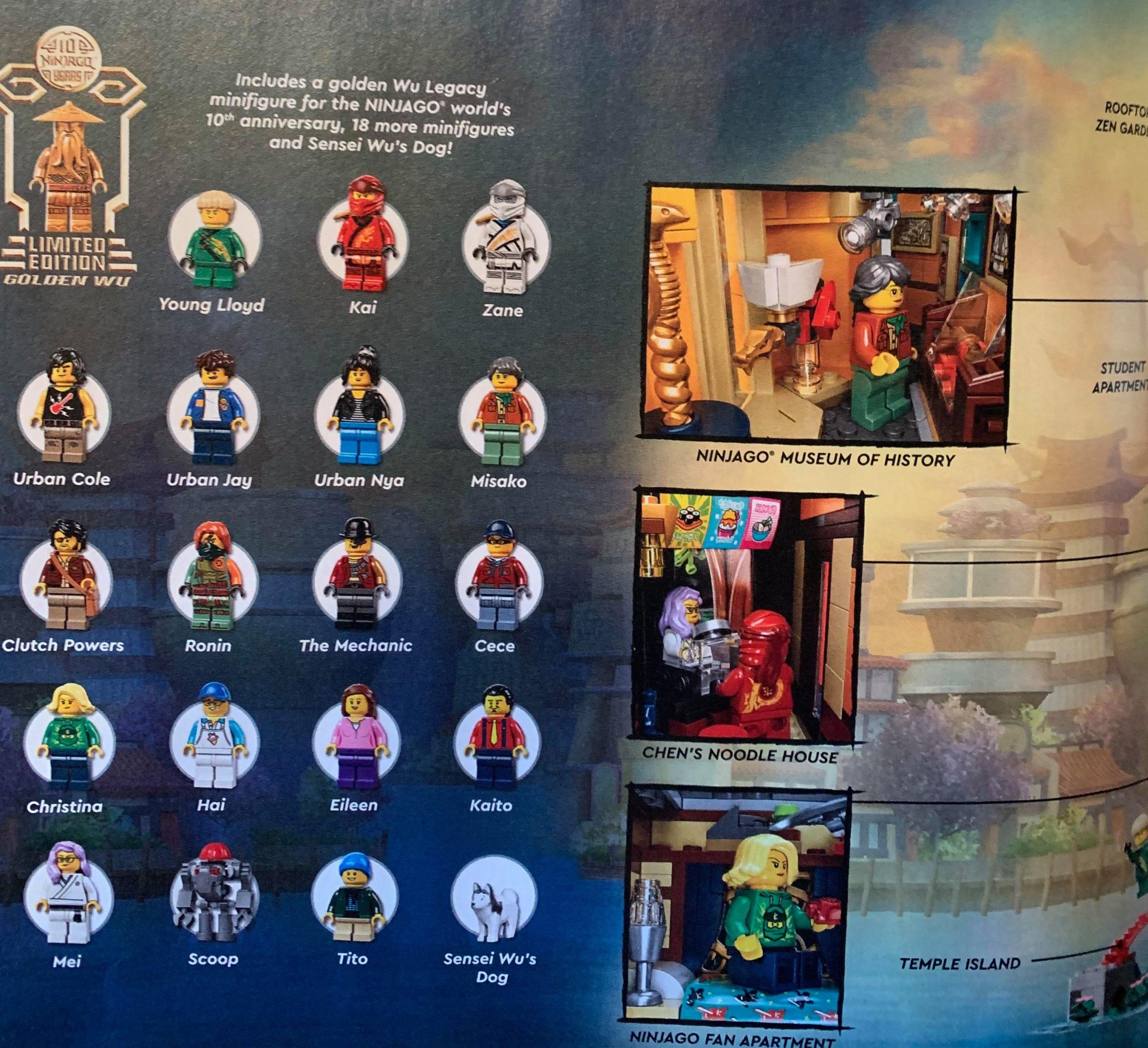 LEGO Ninjago Ninjago City Gardens (71741) Revealed - The ...