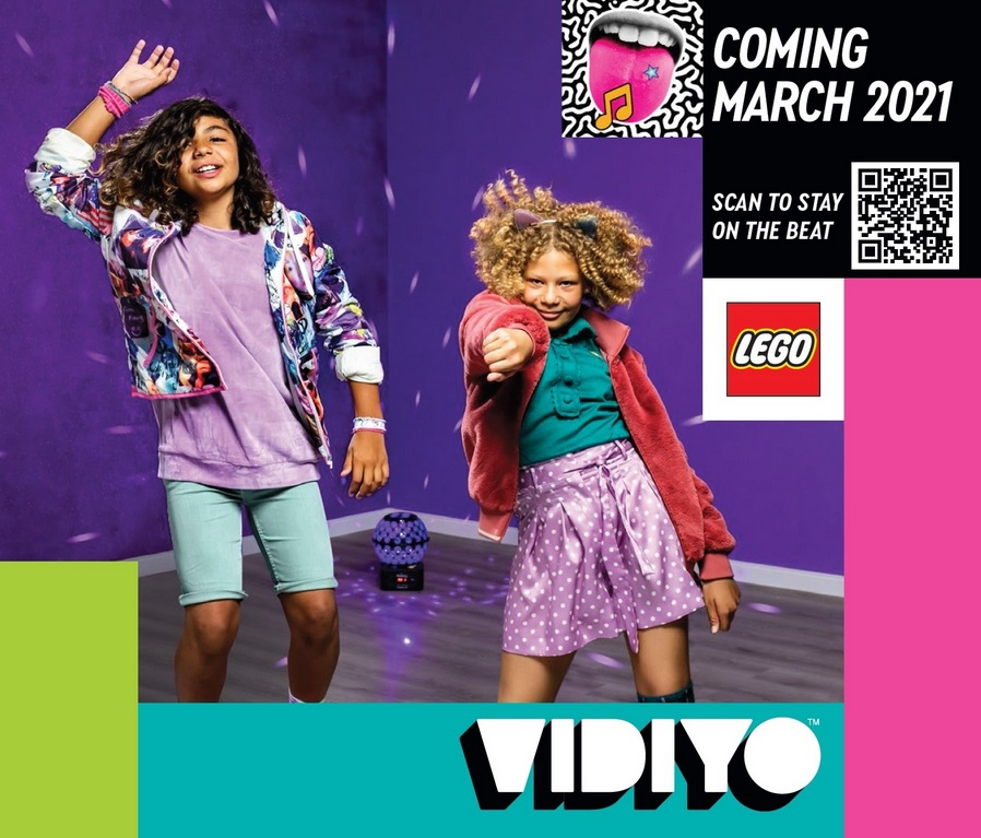 LEGO Vidiyo Teaser Revealed in 2021 LEGO Catalog | The Brick Fan