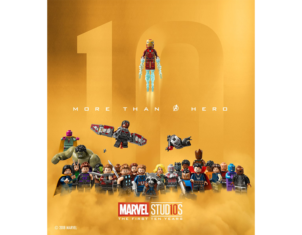 LEGO Marvel Collectible Minifigures Series Rumored for August 2021