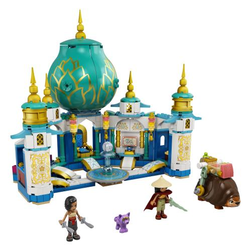LEGO Disney Raya and the Last Dragon Official Set Images ...