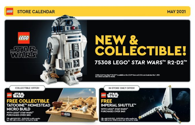 Lego May 2022 Calendar.Lego May 2021 Store Calendar Promotions Events The Brick Fan