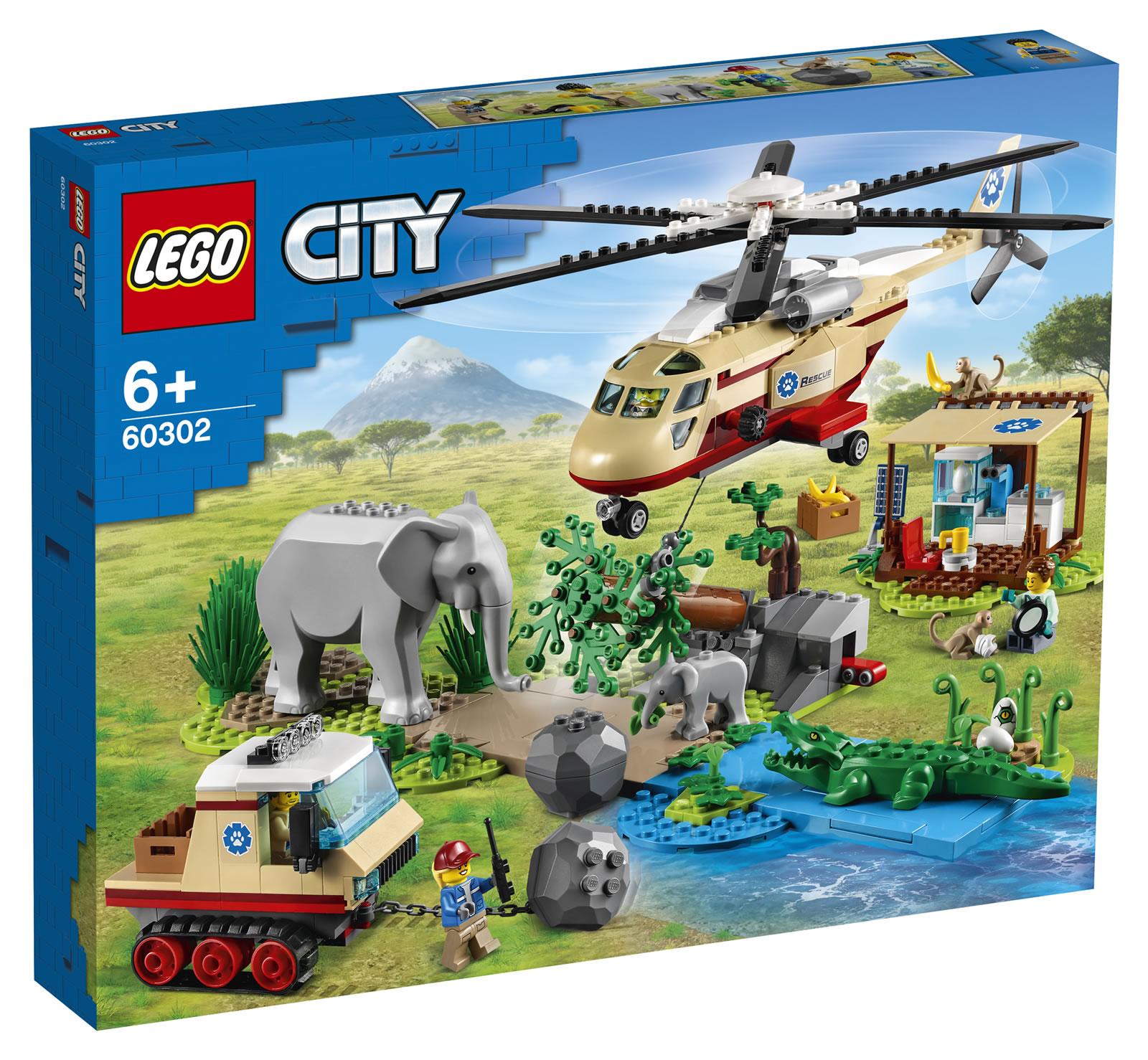 LEGO City Wildlife Summer 2021 Sets Revealed - The Brick Fan